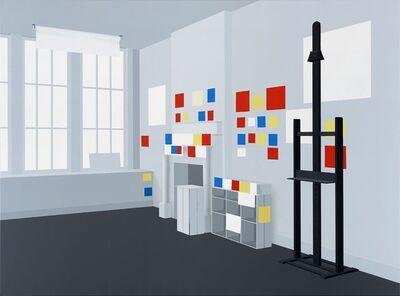 Ben Willikens, 'Raum 1388, Studio Piet Mondrian, New York', 2018