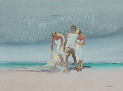 Dalva Duarte, 'Beach Scene X', 1980-1990