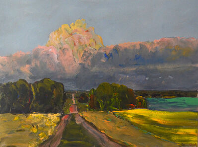 Gregory Hardy, 'Middle of August, Road North of the Farm', 2011