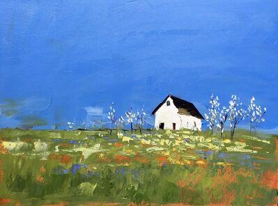 Sandra Pratt, 'White Barn in Summer', 2017