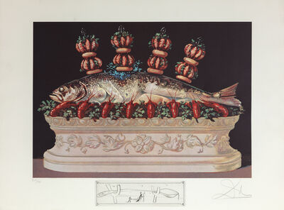 Salvador Dalí, 'Veriegated Plumes', 1971