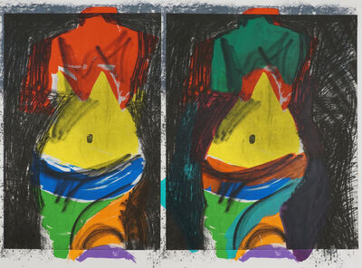 Jim Dine, 'Green Painting', 2013