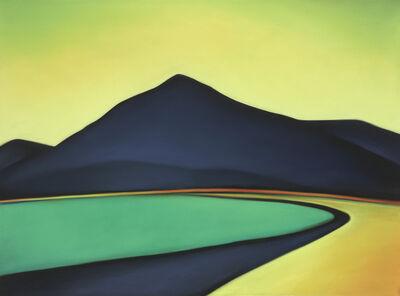 Margaret nes, 'El Chieflo Mountain Road Yellow Sky 19-02', 2019
