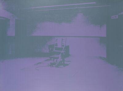 Andy Warhol, 'Electric Chair-Sunday B Morning', 1971