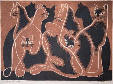 Charles Turzak, 'Nine Lives (Brown)', ca. 1965