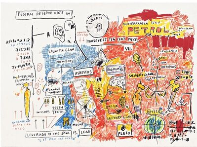Jean-Michel Basquiat, 'Liberty', 1983/2017