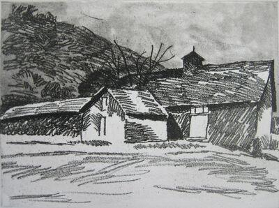 Wolf Kahn, 'Barn at Thurber Farm, VT', 1981
