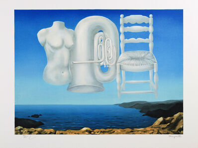 René Magritte, 'Le Temps Menaçant (Threatening Weather)', 2010