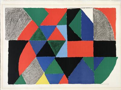 Sonia Delaunay, 'Polyphonie ', 1970
