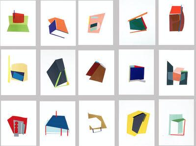 Bettina Vaz Guimarães, 'Localizações Sentimentais Lisboa (15 elementos)', 2018