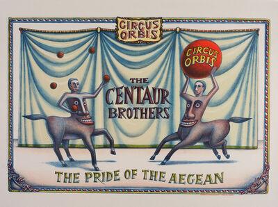 Beauvais Lyons, 'Circus Orbis: The Centaur Brothers', 2015