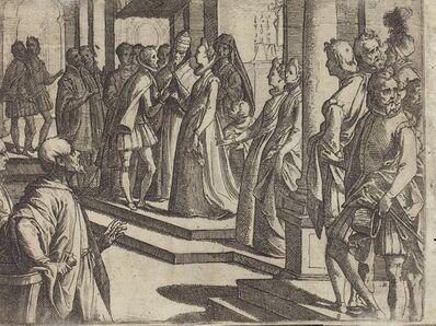 Raffaello Schiaminossi, 'The Betrothal of Margaret of Austria to Philip III, King of Spain [verso]', 1612