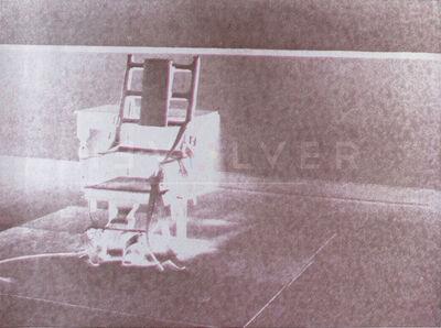 Andy Warhol, 'Electric Chair 78 (FS 11.78)', 1971
