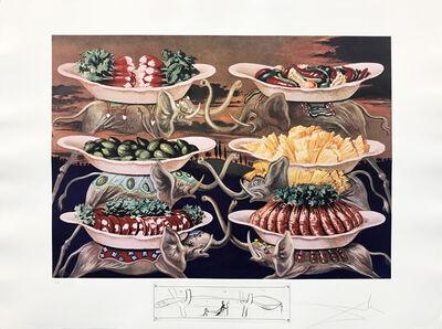 Salvador Dalí, 'LES DELICES PETITS MARTYRS', 1971