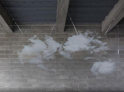 Miya Ando, 'Haku-Un (White Cloud) 4.8.1', 2017