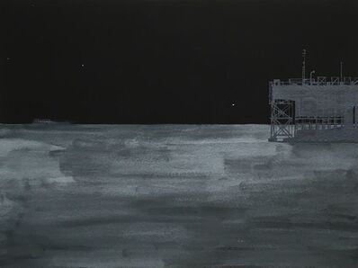 Donna Dennis, 'Night Ship and Night Dock', 2016