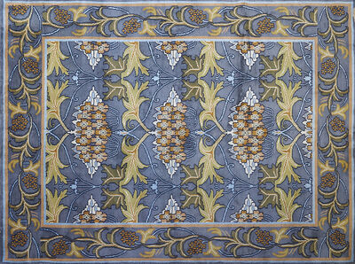 Style Of William Morris, 'Contemporary room-sized wool rug'