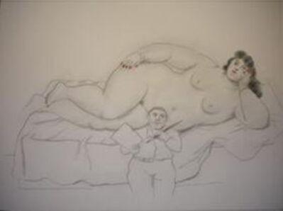 Fernando Botero, 'Painter and Model', 2004