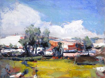 Simon Andrew, 'Melting Snow Landscape'