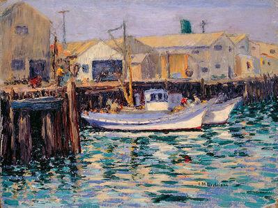 Lillie May Nicholson, 'Fishing Boats: Fisherman's Wharf, Monterey, California', ca.1923-1933