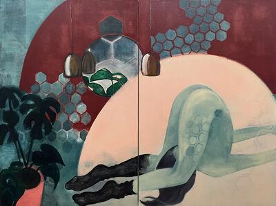 Sara Berman, 'Naked Yoga', 2016