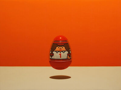 """Chris Cosnowski, '""""Allegory Concerning The Impossibility of Enlightenment (Egos Wobble But They Don't Fall Down)""""', 2015"""