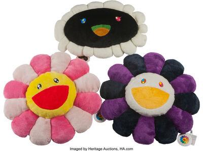 Takashi Murakami, 'Flower Cushion (set of 3)'