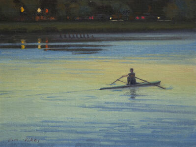 Sam Vokey, 'Rowers at Dawn', 2018