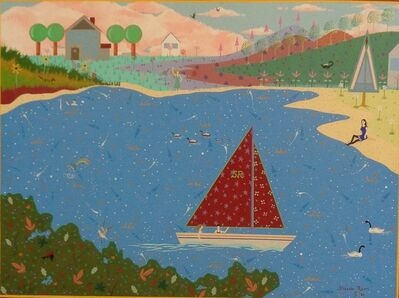 Steve Romm, 'Sailing on a Summer's Day', 1971