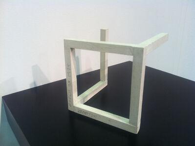 Sol LeWitt, 'Incomplete Open Cube MODEL', 1974