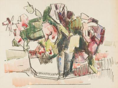 Herbert Barnett, 'Roses in a Bowl', ca. 1960