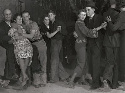 Margaret Bourke-White, 'Taxi Dancers, Fort Peck, Montana', 1936/1990c