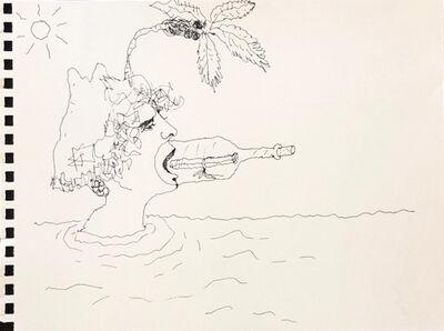 Mindy Alper, 'Untitled (message in a bottle)', n.d.