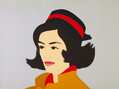 Alex Katz, 'Ada in Hat (from Alex & Ada portfolio) ', 1990