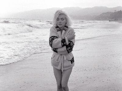 Edward Weston, 'Lost In Thought, Santa Monica Beach, 1962', 1962