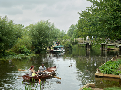 River Stour at Flatford, Suffolk, 20th July 2014