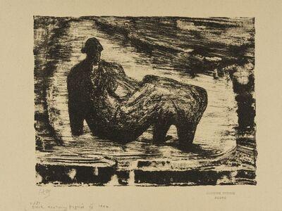 Henry Moore, 'Black Reclining Figure IV (Cramer 381)', 1974