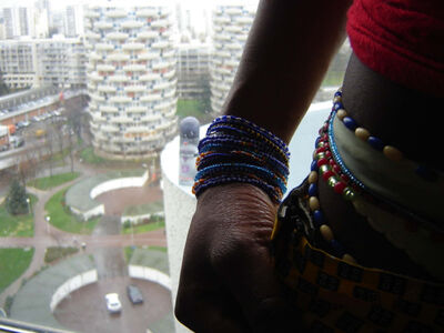 Mohamed Camara, 'Maliens de Paris', 2007