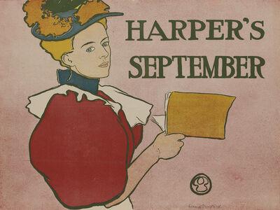Edward Penfield, 'Harper's September', 1896