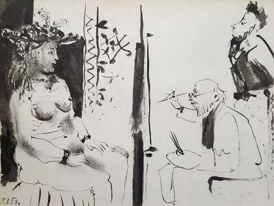 Pablo Picasso, 'La Comedie Humaine', 1954