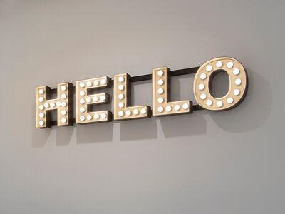 Peter Liversidge, 'Hello', 2012
