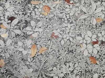 Yukiko Suto, 'Fallen Leaves and Weeds (落ち葉と雑草)', 2015