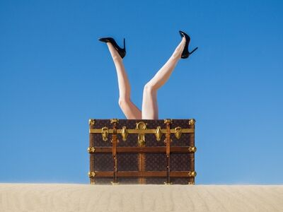 Tyler Shields, 'Louis Vuitton Legs'