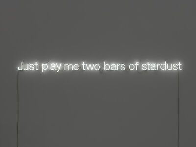 Just play me two bars of stardust