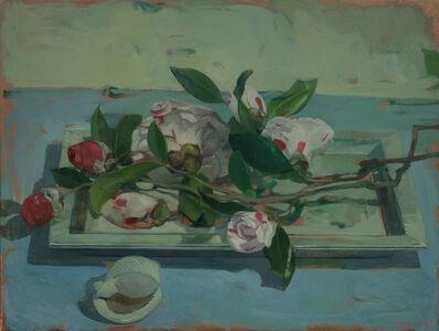 Benjamin J. Shamback, 'Camellias on Tray', 2018