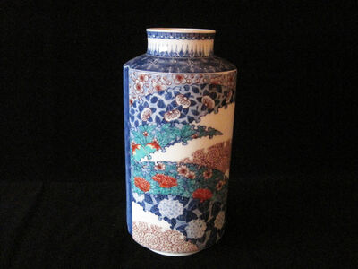 Vase with Flower Patterns