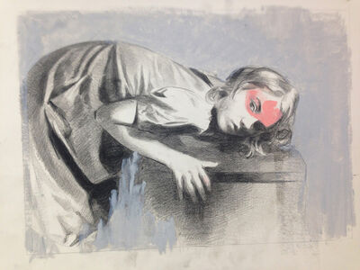 Mercedes Helnwein, 'Hilary', 2014