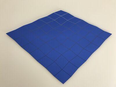 6x6 Ondulation on blue