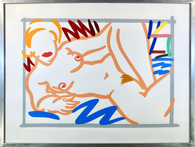 Tom Wesselmann, 'Judy with Blue Blanket', 1960-1988