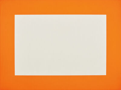 Donald Judd, 'Untitled: one plate', 1988-1990